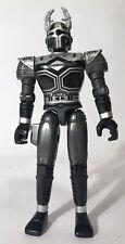 "Vintage Beetleborgs Mega Spectra Titanium Black Silver Borg 5"" Figure Bandai"