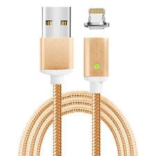 Magnet Apple Lightning Lade Kabel Daten Magnet Stecker beidseitig steckbar gold