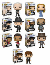 Funko Pop! Television: Westworld Complete Set of 7 in stock w/Protectors