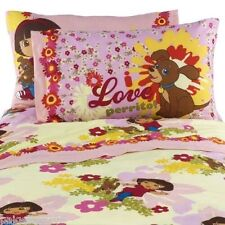 "Nickelodeon Dora the Explorer Reversible Pillowcase ""Dora Puppy"""
