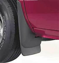 Husky Liners Molded Mud Guards Flaps - Set of 4 Front and Rear - Easy Install