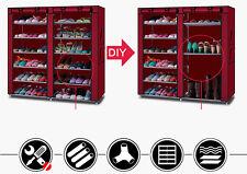 Home Shoe Rack Shelf Storage Closet Organizer Cabinet 6 Tier Space Saving US
