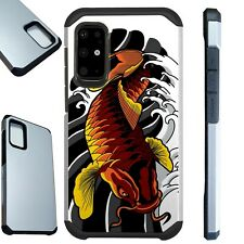 FUSION Case For Samsung Galaxy S20 Note 10 Phone Cover  KOI RED