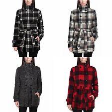 NEW Ike Behar Ladies' Hooded Fleece Jacket w/ Faux Fur Lining