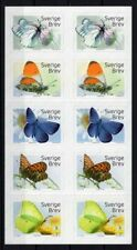 Sweden butterflies 2017 (face value price apx. 10 $)
