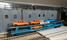 Lima OO Motorail Car transporter with 5 Mercedes cars