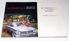 Vintage 1960 Buick Fold-out Sales Brochure