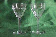 Val saint Lambert cristal 2 verres à vin 128 mm modèle ZERMATT taille Avon