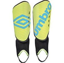 """NEW Umbro Arturo Soccer Shin Guards Green Youth Size Large (3' 11"""" - 4' 7"""")"""