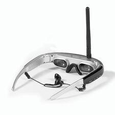 5.8GHz Wireless FPV Video Glasses 68 inch 654*480 Video Goggles