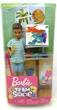 Mattel Barbie Team Stacie Friend Of Stacie Doll Art Class Paint Playset NRFB
