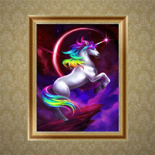 DIY 5D Diamond Embroidery Horse Painting Cross Stitch Kit Crafts Home Decor