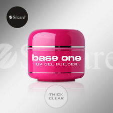 Silcare Base One Clear 30g UV Gel Nails Acid Free Builder File Off Gel Silcare