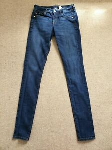 Ladies' H&M Low Rise Waist Denim Jeggings Size 28 waist 34 leg