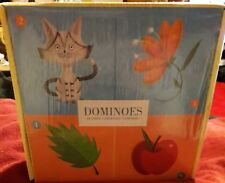 MUDPUPPY DOMINOES SET FOR CHILDREN - 28 LARGE DOMINOES AGE 3+ NEW