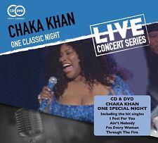CHAKA KHAN - ONE CLASSIC NIGHT  CD+DVD NEW+
