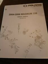 2004-2006 Polaris Magnum 330 Atv Repair Service Manual Guide Book Oem 9920172