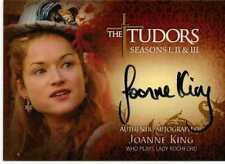 The Tudors Seasons 1 to 3 Auto Autograph Card TA-JK Joanne King as Lady Rochford