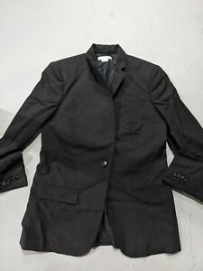 Helmut Lang Women Black Wool Blazer Size 4