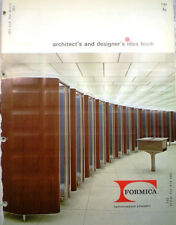 FORMICA Catalog RETRO Laminated Plastic Counter Tops Wall Panels 1963 Samples