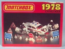Vintage Matchbox Collectors Catalog 1978 Lesney