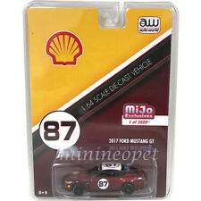 AUTOWORLD CP7439 2017 FORD MUSTANG GT 1/64 SHELL OIL RACING #87 Chase RED