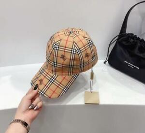 Classic Men Women Burberry Snapback Adjustable Hip-hop Golf Baseball Caps hats