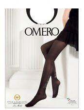 Omero Coco blickdichte Strumpfhose mit raffinierter Verzierung in Naht-Optik   L