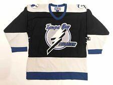 Vintage 90's Starter NHL Tampa Bay Lightning Hockey Jersey M Medium Mens VTG
