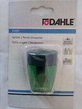Spitzer mit zwei Spitzern für 8-11 mm breite Stifte grün von Dahle <Neu>