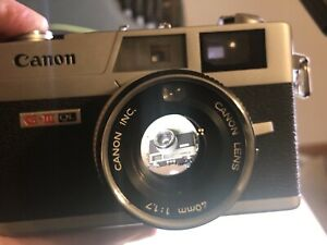 Tested-New light seals-Canon Canonet QL-17 G-III