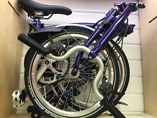 Brompton Bike M6l Purple Metallic 2020 New In Box Never Use