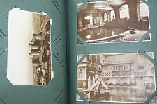 Patchett Family postcard album (105) early Stereocards X10 and 25 negs caving et