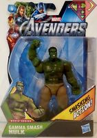"HULK -GAMMA SMASH- The Avengers Movie Series 4"" inch Action Figure #8 2012"