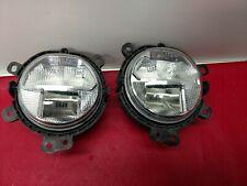 For Mini F54 F55 F56 Cooper Clubman Pair Set of 2 Front Fog Lights LED Genuine