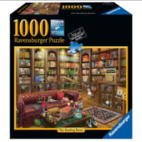 "NEW! Ravensburger ""Reading Room"" 1000 Piece Jigsaw Puzzle"