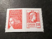 FRANCE 2004, timbre PAIRE P3716 AUTOADHESIF P43 MARIANNE ALGER neuf**, MNH STAMP