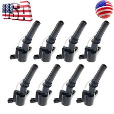 Lot of 8 OEM Ignition Coils for Ford F-150 F-250 E-250 E-350 Lincoln Mercury