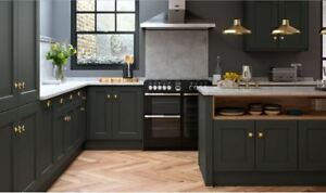 Allestree Painted, Rigid Built, Beaded Shaker kitchen, Multiwood in 26 colours