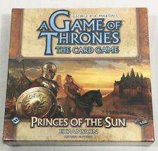 New George R. R. Martins A Game Of Thrones The Card Game Prince Of The Sun Expan