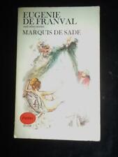 Eugenie de Franval & Other Stories by Marquis de Sade erotica vintage Panther