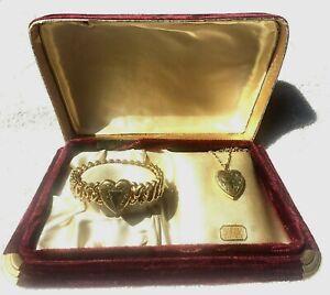 Vintage Speidel Expansion Sweetheart Bracelet in Original Velvet Box