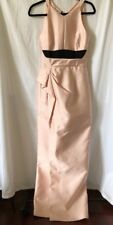 J Mendel Gown Size 4 Pink Black New With Defects