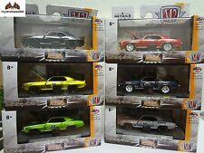 M2 Machines 1969 Chevrolet Camaro SS/RS 396 & Z/28 Set of 6 Auto Mods R4 + R5