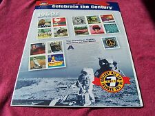 "USPS- CELEBRATE THE CENTURY- "" THE 1960's "" STAMPS  FDC Souvenir Page 2000"