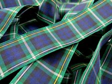 Berisfords 25mm Campbell Tartan Ribbon 7622 - Per 3 Metre cut length