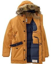 $350 NWT Timberland Men's Scar Ridge Waterproof Parka Jacket Coat Wheat XL