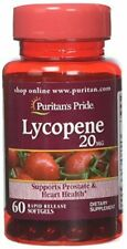 Puritans Pride Lycopene 20 Mg Softgels, Promotes Prostate Health, 60 Count