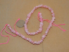"Pink Andean Opal Beads 15+"" strand (13387)"