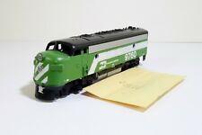 Athearn F7A Diesel Locomotive Burlington Super #9760 HO Scale Train Engine MIB